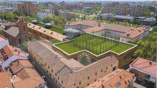 Imagen del proyecto original de Ingesport para el macrogimnasio en Hortaleza.