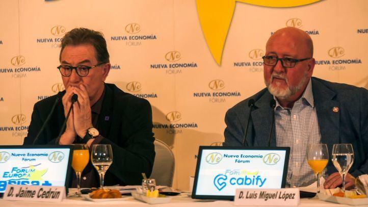 Jaime Cedrún y Luis Miguel López Reíllo