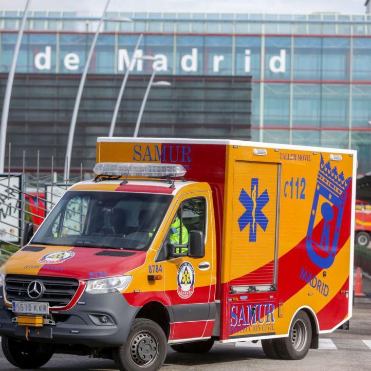 Samur-Protección Civil premia a los servicios públicos y al pueblo de Madrid