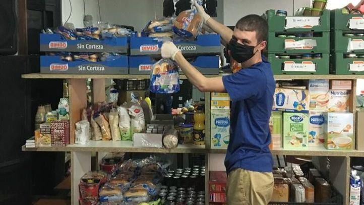 Los bancos de alimentos, mermados por la caída de donaciones y voluntarios