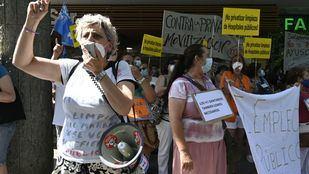 Empleados de limpieza del Marañón, en huelga lunes y martes