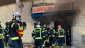 Muere en un incendio el propietario de un local tras agredir a su inquilina por impago