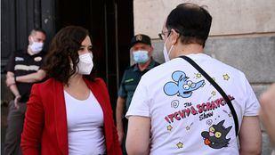Díaz Ayuso apunta a la necesidad de tener un cuidado especial en Madrid frente a rebrotes