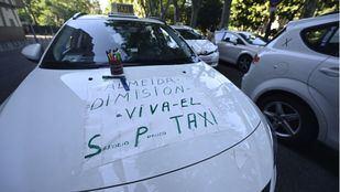 Los taxistas piden medidas para una