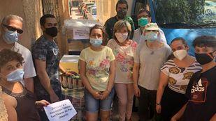 Mercadona dona a la asociación San Vicente de Paúl 2.5 toneladas de alimentos