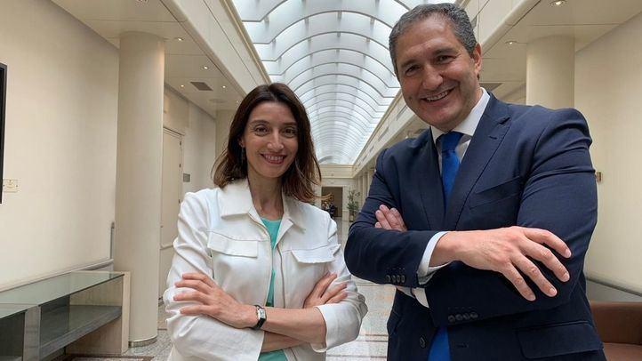 Pilar Llop y José Cepeda adquieren condición plena de senadores autonómicos. (Archivo)