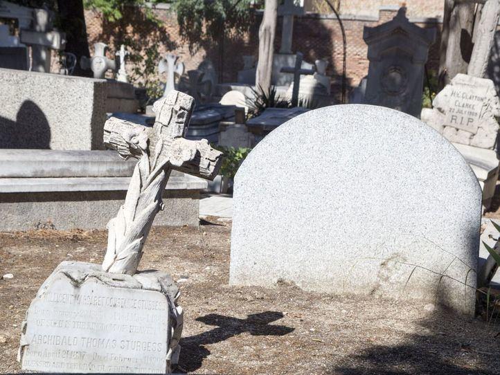 El cementerio británico de Carabanchel