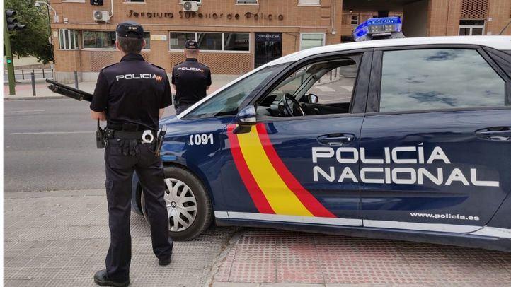 Una patrulla de Policia Nacional en una imagen de archivo