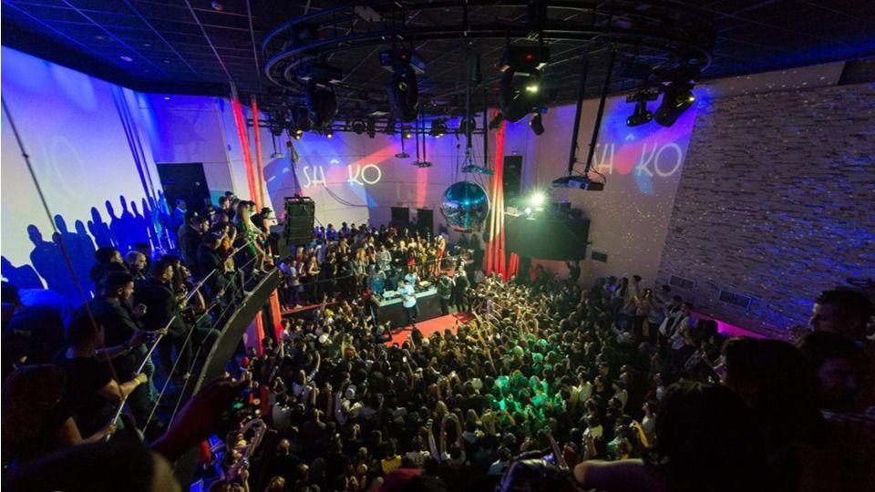 La discoteca Shoko, en la calle Toledo.