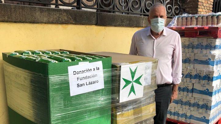 Mercadona dona a la Fundación San Lázaro 2,6 toneladas de alimentos de primera necesidad