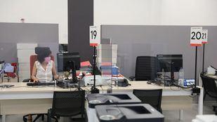 Las oficinas de empleo reinician la atención presencial