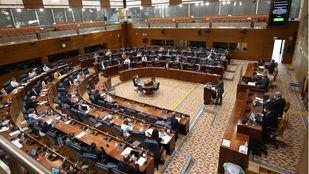 El PSOE preside la comisión de residencias de la Asamblea, con PP y Unidas Podemos en la Mesa
