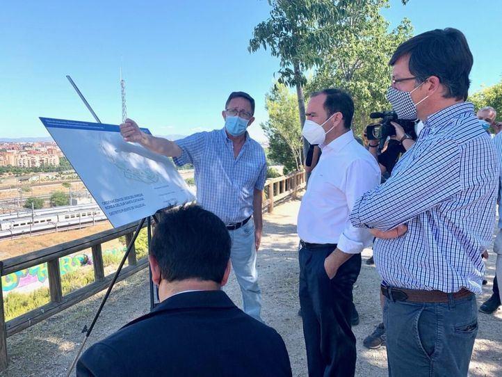 Los trabajos del parque Ronda del Sur-Santa Catalina concluirán en otoño