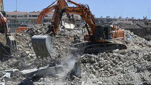 Concluidas de forma definitiva las obras de demolición del Vicente Calderón