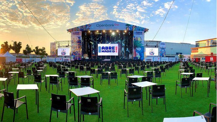 Abre Madrid estrena su verano cultural en Ifema con un concierto solidario de Los Secretos