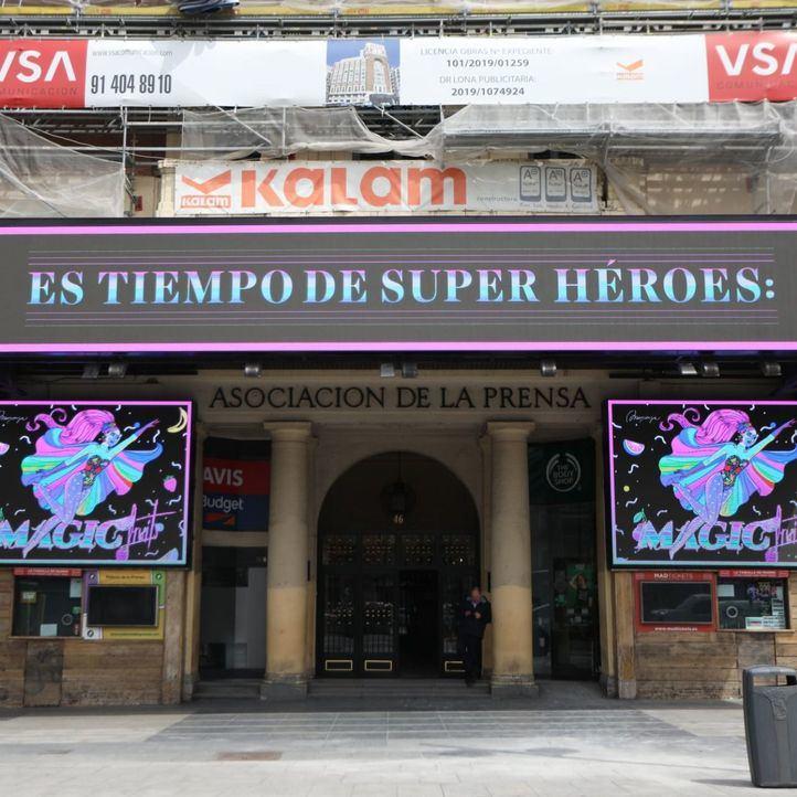 Así será la reapertura del Palacio de la Prensa este viernes