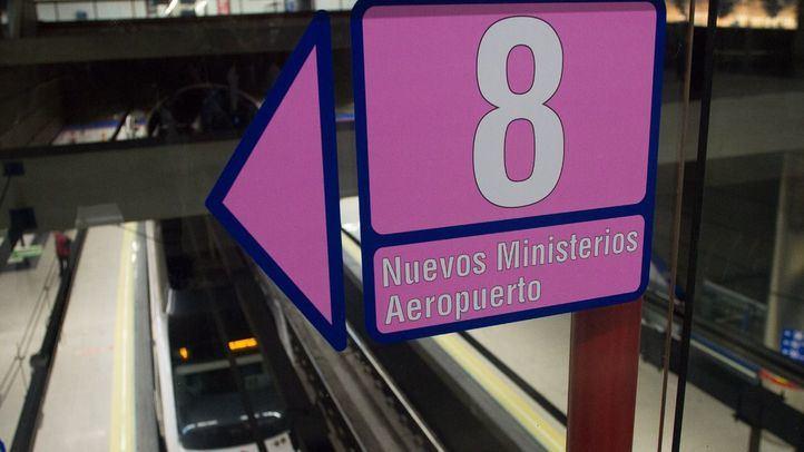 La línea 8 de Metro de Madrid se ampliará para llegar a Valdebebas