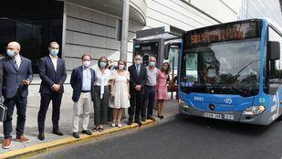 La EMT estrena su primer bus a demanda con 73 puntos de recogida