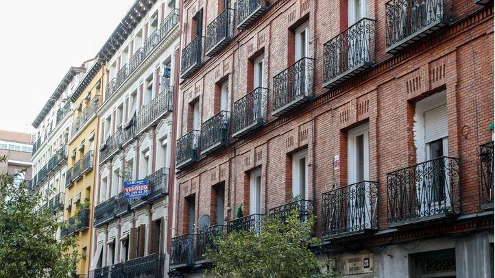 Bloques de pisos en Lavapiés