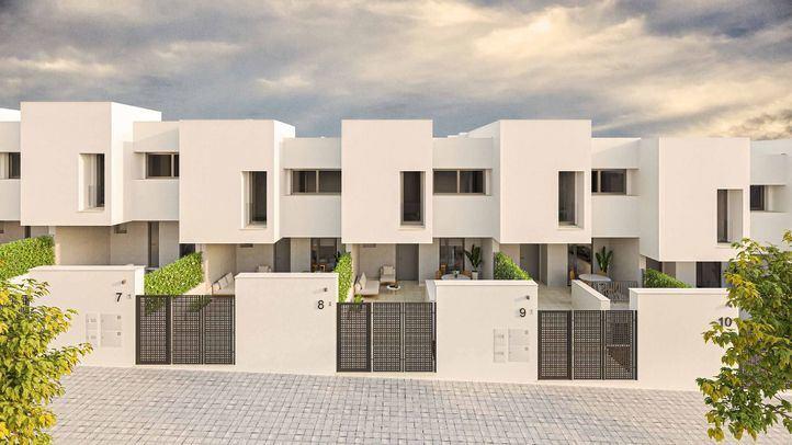 AEDAS Homes lanza su promoción de chalets sostenibles con completas zonas comunes en Alcorcón