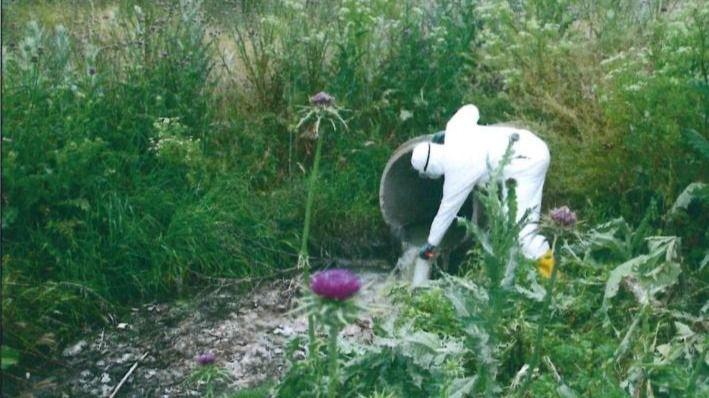 Detectado el virus en un vertido ilegal al Manzanares en Getafe