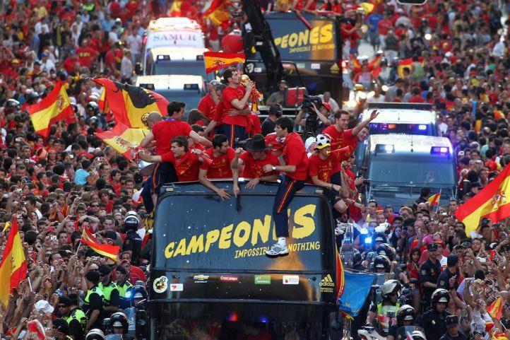 Mundial Sudáfrica 2010: la mayor hazaña del deporte español