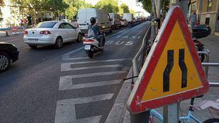 Cerrado al tráfico el puente de Joaquín Costa, que se demolerá