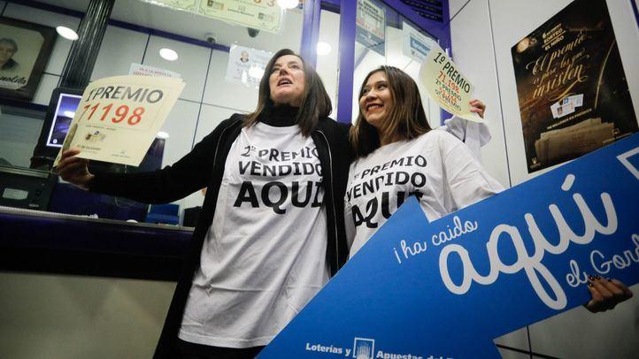 Doña Manolita ya vende Lotería de Navidad