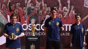 Madrid conmemora en Colón el triunfo de España en el Mundial