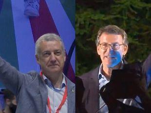 La continuidad se impone en las elecciones gallegas y vascas