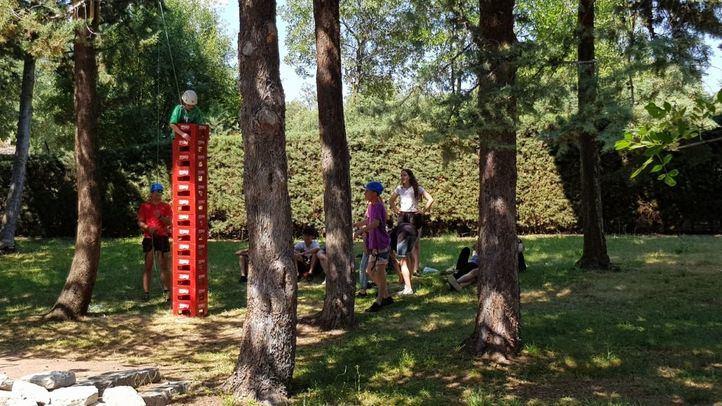 Detectado un brote en un campamento en Soria con niños madrileños