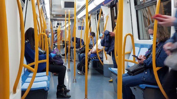 La demanda de transporte público en Madrid se estabiliza con un ligero descenso del 0,4%