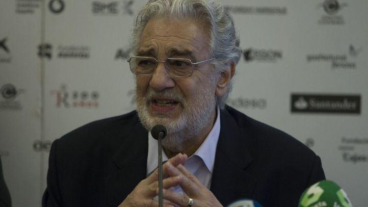 Más Madrid y PSOE retiran el nombre de Plácido Domingo de la escuela de música de Retiro