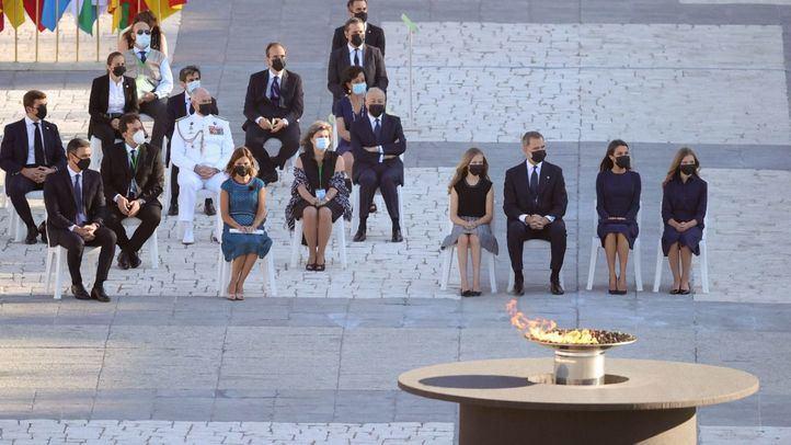 El Rey apela al respeto y entendimiento en el homenaje a las víctimas del Covid-19