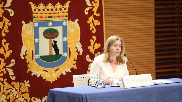Inmaculada Sanz, portavoz del Ayuntamiento y delegada de Seguridad y Emergencias
