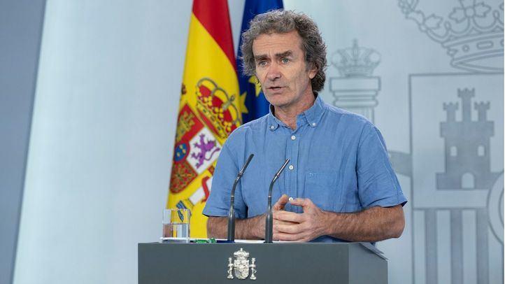 El director del Centro de Coordinación de Alertas y Emergencias Sanitarias, (CCAES), Fernando Simón, comparece en rueda de prensa para informar sobre novedades frente al coronavirus.