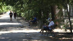 El Retiro y ocho parques más, con zonas balizadas por altas temperaturas