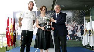 Ayuso y Almeida felicitan 'de corazón' al Real Madrid