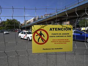 Cortes de tráfico desde este lunes para desmontar el 'scalextric' de Joaquín Costa