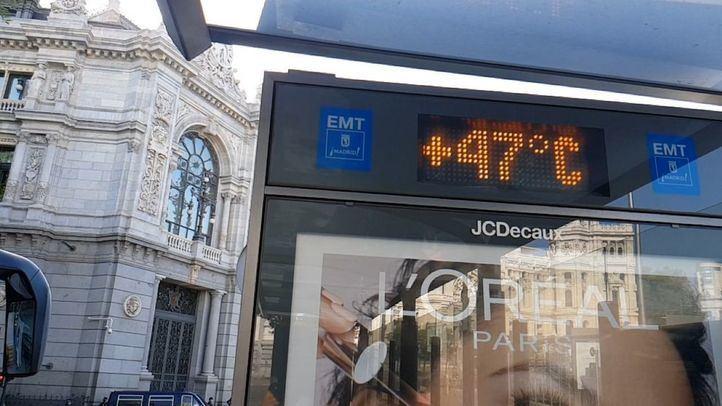 Aprieta el calor en Madrid: las altas temperaturas no dan tregua