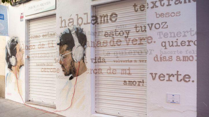 Festival C.A.L.L.E. de arte urbano en Lavapiés