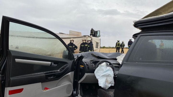 Accidente mortal en Campo Real.