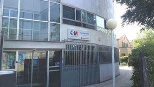 Centro de salud de El Bercial, en Getafe