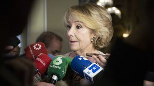 Los testigos de la Púnica colocan a Aguirre en el centro de la caja B del PP
