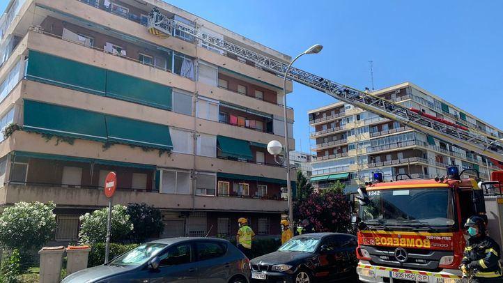 Explosión sin heridos en un piso del distrito de Latina