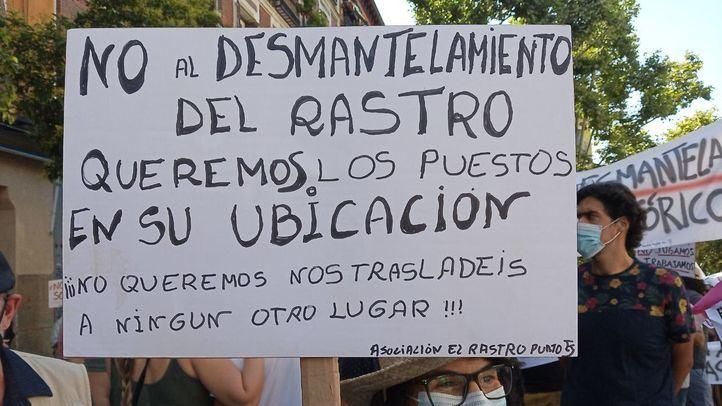 Comerciantes del Rastro protestan por cuarto domingo consecutivo