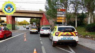 Detenido en Alcorcón un conductor que cuadruplicaba la tasa de alcoholemia