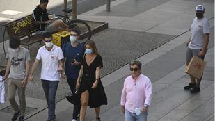 La multa por no llevar mascarilla rondará los 100 euros
