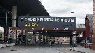 La estación de Madrid Atocha habilita cámaras para vigilar la temperatura