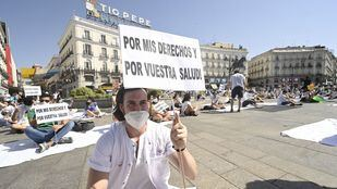 Los MIR cancelan la manifestación del lunes pero mantienen la huelga